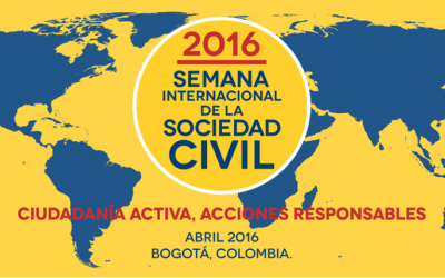 SOLICITUD DE VOLUNTARIOS PARA LA SEMANA INTERNACIONAL DE LA SOCIEDAD CIVIL 2016